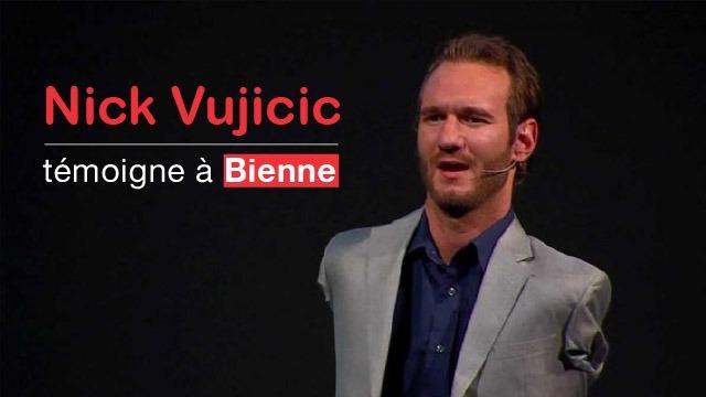 Nick Vujicic témoigne à Bienne